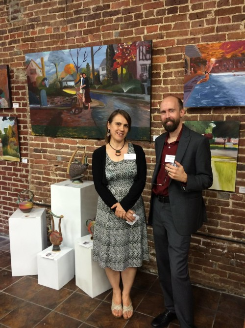 Fall Exhibit by Helene Fielder and Noah Saterstrom